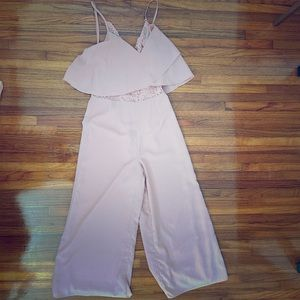 Blush Sugar + Lips Jumpsuit